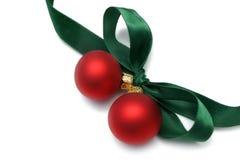De Boog van de Gift van Kerstmis Stock Afbeeldingen