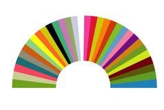 De boog van de kleur Royalty-vrije Stock Foto