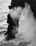 De Boog van de lava Royalty-vrije Stock Foto's