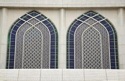 De Boog van de moskee Stock Foto