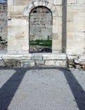 De boog van de steen stock fotografie