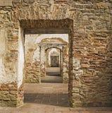 De boog van de steendeur Stock Afbeelding
