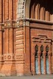 De Boog van de triomf (Arc DE Triomf), Barcelona, Spanje Royalty-vrije Stock Foto