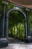 De boog van de tuin royalty-vrije stock foto