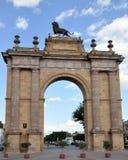 De Boog van Guanajuato van Leon stock afbeelding