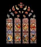 De boog van het gebrandschilderd glas Royalty-vrije Stock Afbeelding