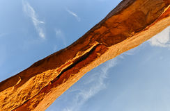 De Boog van het Noordenvenster, Bogen Nationaal Park Stock Afbeeldingen