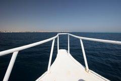De boog van het schip Stock Fotografie