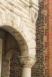 De boog van de huisingang stock fotografie