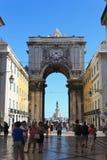 De Boog van Lissabon Stock Foto's