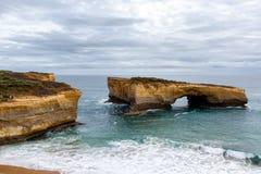 De Boog van Londen, Grote OceaanWeg, Australië Stock Fotografie