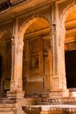De Boog van Patwa Haveli van Kothari Stock Fotografie