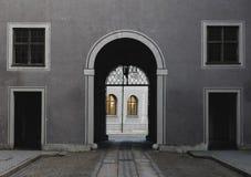 De boog van Residenzmunchen Royalty-vrije Stock Foto's