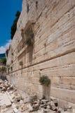 De Boog van Robinson, Tempel zet, Jeruzalem op Stock Afbeeldingen