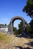 De boog van San Damiano bij carsulae Royalty-vrije Stock Foto