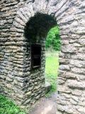 De Boog van de steen stock afbeelding
