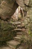 De Boog van steenstappen Stock Afbeeldingen