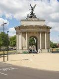 De Boog van Wellington, Londen Royalty-vrije Stock Fotografie