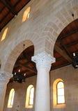 De Boogschieten van de bouw, Kerk van de Vermenigvuldiging Royalty-vrije Stock Afbeeldingen