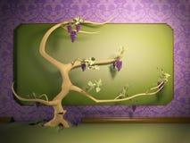 De boom groeit Stock Afbeeldingen