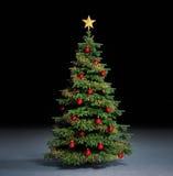De boom van Christmass Stock Foto's