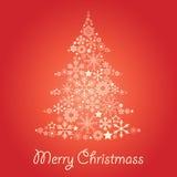 De boom van Christmass stock afbeeldingen