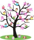 De boom van Cupcake stock illustratie