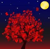 De boom van de herfst vector illustratie