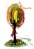 De boom van de kunst Royalty-vrije Stock Fotografie