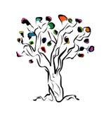 De boom van de kunst Stock Afbeelding