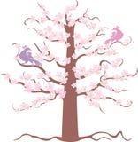 De boom van de lente royalty-vrije illustratie