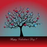 De boom van de liefde vector illustratie