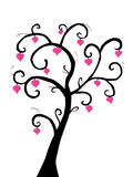 De boom van de liefde Royalty-vrije Stock Fotografie