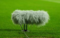De boom van de microfoon Stock Foto's