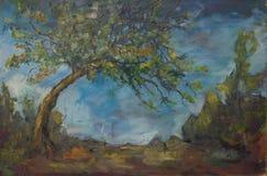 De boom van de mijnpeer royalty-vrije stock foto