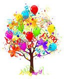 De boom van de vakantie Royalty-vrije Stock Afbeeldingen