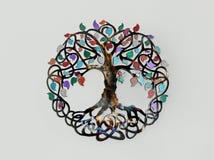 De boom van decoratie van het het levens de Geestelijke Symbool royalty-vrije stock fotografie