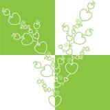 De boom van harten. Stock Illustratie