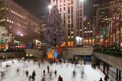 De boom van het Centrum van Rockefeller Royalty-vrije Stock Afbeeldingen