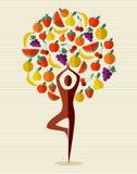 De boom van het de yogafruit van India Stock Afbeelding