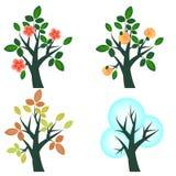 De boom van het fruit Stock Foto's