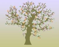 De boom van het geld Stock Fotografie