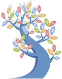 De boom van het geld in vector Stock Foto's