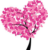 De boom van het hart Royalty-vrije Stock Afbeelding