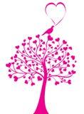 De boom van het hart vector illustratie
