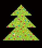 De boom van het nieuw-jaar Royalty-vrije Stock Afbeelding