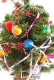 De boom van het nieuwjaar stock foto's