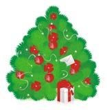 De boom van het nieuwjaar Royalty-vrije Stock Foto