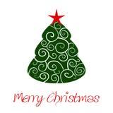 De boom van het ornament christmass Stock Foto