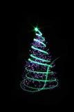 de boom van kleurenkerstmis Stock Foto's